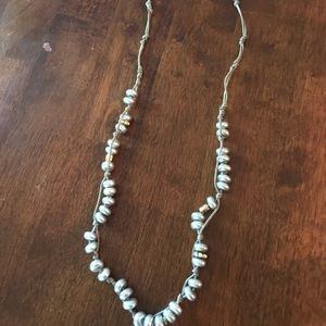 J. Crew Jewelry - J.Crew silver long Necklace